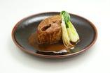 名物 トロ鯖の味噌煮 赤味噌仕立て