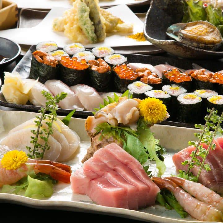 鮨と肴おどる魚