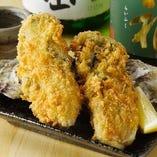 牡蠣のフライ