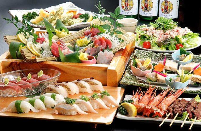 宴会が盛り上がる旬の地元食材コース