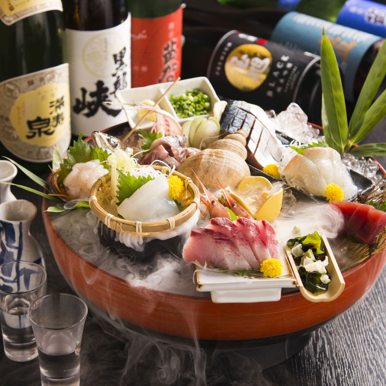 富山の地酒と富山の焼酎あります!
