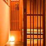 飯田橋の街並みが覗ける夜景半個室を完備