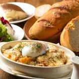 季節の食材を使用したイタリアン料理をお楽しみください