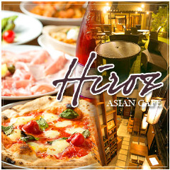 テラス完備 Asian Cafe Hiroz
