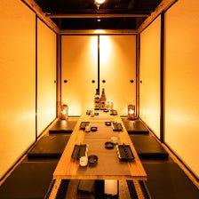 全席完全個室!新宿東口の個室居酒屋