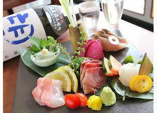 豊洲直送の天然鮮魚が食べられる!