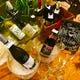 ワインビュッフェ(スパークリング2種・白6種・赤6種)も魅力。
