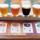 クラフトビールは17種類の中から日替わりで4種類をチョイス。