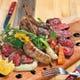 PAN de NIQといえばコチラ。肉の盛り合わせ。