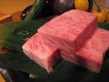 常陸牛サーロイン陶板焼き