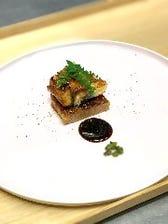 『自家製フォアグラのテリーヌと鰻の蒲焼き』付き!旬のお刺身と創作料理、〆は上うな重コース