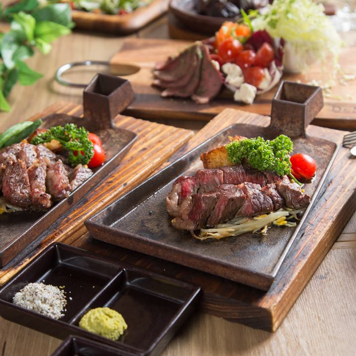 お肉を贅沢にたっぷりご満喫いただけるコースを多彩にご用意♪