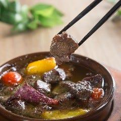 牛タン&野菜アヒージョ