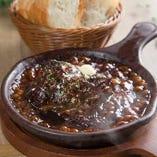 国産黒毛牛の濃厚stew