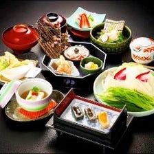 湯葉と豆腐のミニ会席「鴨川(かもがわ)」