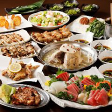 厳選鶏料理を贅沢に楽しむ宴会コース