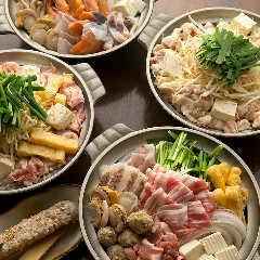お鍋を食べるなら当店で! 石橋随一のおなべの種類と味自慢です