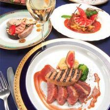 ディーレ Menue Deele(本日のお肉料理・本日の魚介のお料理が選べるコース)<全7品>6,300円(税抜)