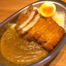 豚骨スープで作った濃厚豚骨カレー!
