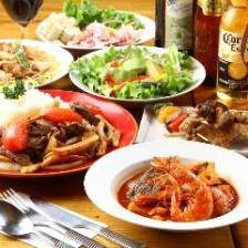 気さくな仲間と本格ペルー料理