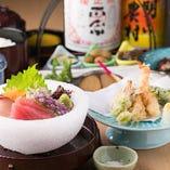 ¥5000~から 季節の食材を取り入れたコースにしております。