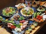 コース料理は2500円より ご予算に応じてご用意いたします!