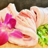 【豚&鶏】あぐー豚バラ~サムギョプサル風~ 1,680円