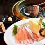 【豚&鶏】あぐー豚しゃぶしゃぶ 1,680円
