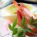 旬の食材に料理人の職人技と真心を込めた彩り豊かな会席料理
