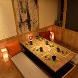 【2~4名様】テーブルタイプの個室!