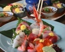 【お料理のみ】鯛めし、広島名物ガンスや刺盛り、旬の食材を楽しむ 3,500円コース
