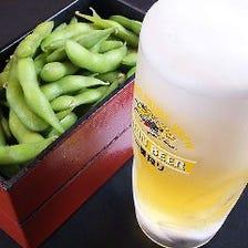 飲み放題は生ビールも楽しめます!