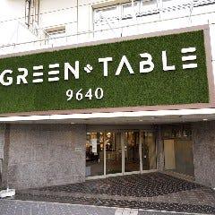 GREEN TABLE 9640 KUROSHIO