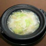 白菜とフカヒレの醤油煮込み