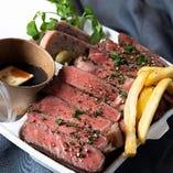 ◆お持ち帰り専用 調理無し◆ プレミアムリブの厚切りローストビーフ