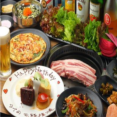 熟成肉専門店 ヨプの王豚塩焼 新大久保本店 コースの画像