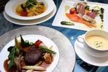 【会食 フランス料理コース】 サンプルメニュー