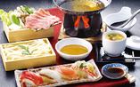 【お寿司とうどんしゃぶ膳】
