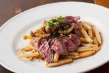 熟成牛ハラミのステーキ