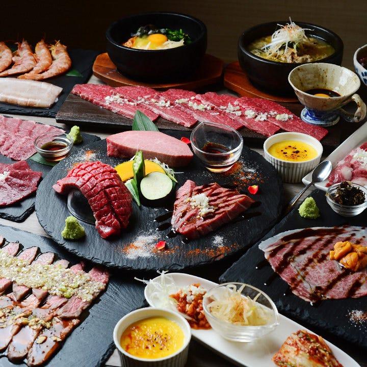 予算に合わせて選べる肉で、宴会を