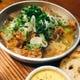 珍しい『馬もつ煮』プリップリのモツを味噌とトマトで洋風に。