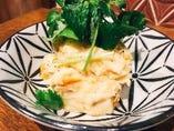 浅利と三つ葉のポテトサラダ
