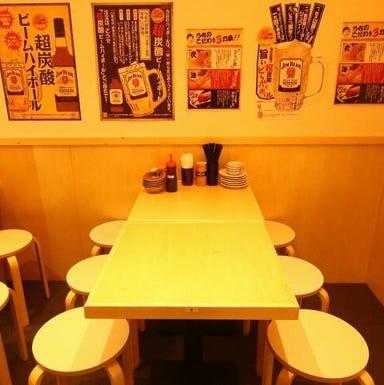 串カツ・海鮮・もつ鍋 大衆串横丁 てっちゃん 琴似店 店内の画像