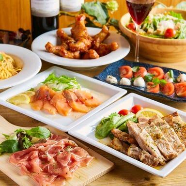 個室×チーズとイタリアン肉バル DELICA‐デリカ‐ 新潟店 コースの画像
