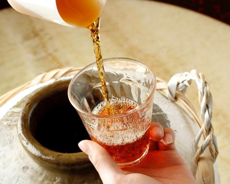 紹興酒を楽しめるのも中華ならでは 甕出し上質酒をご堪能下さい