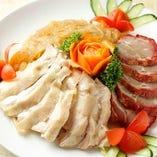 1】3種冷菜の盛合せ