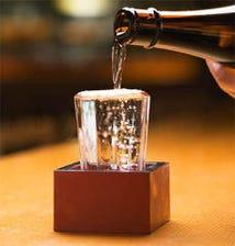 日本酒は季節毎に全国各地より厳選