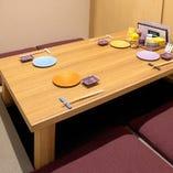 《宴会個室》プライベートなお集まりに最適な上質空間(2〜4名様)