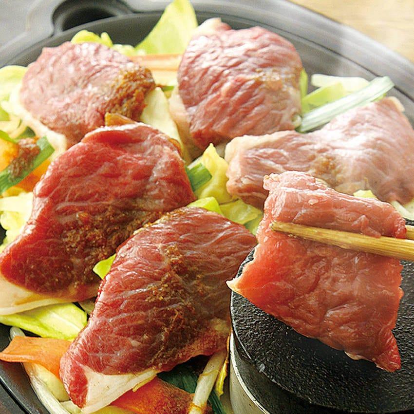 ジンギスカン サフォーク種ラム肉を使い本物の美味しさを提供!