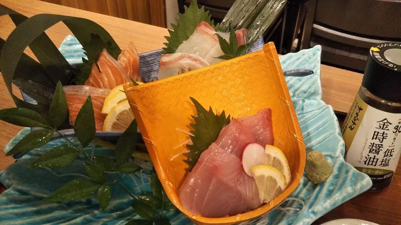 北海鮮魚は地酒とあわせて・・・